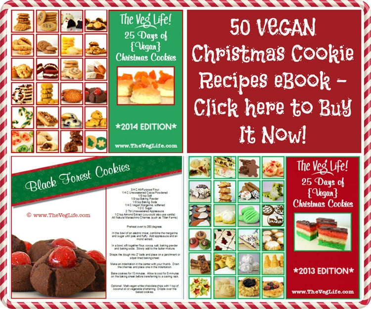 25 Days of Vegan Christmas Cookies eBook