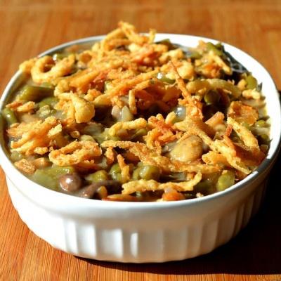 Green Bean Casserole II {Vegan}