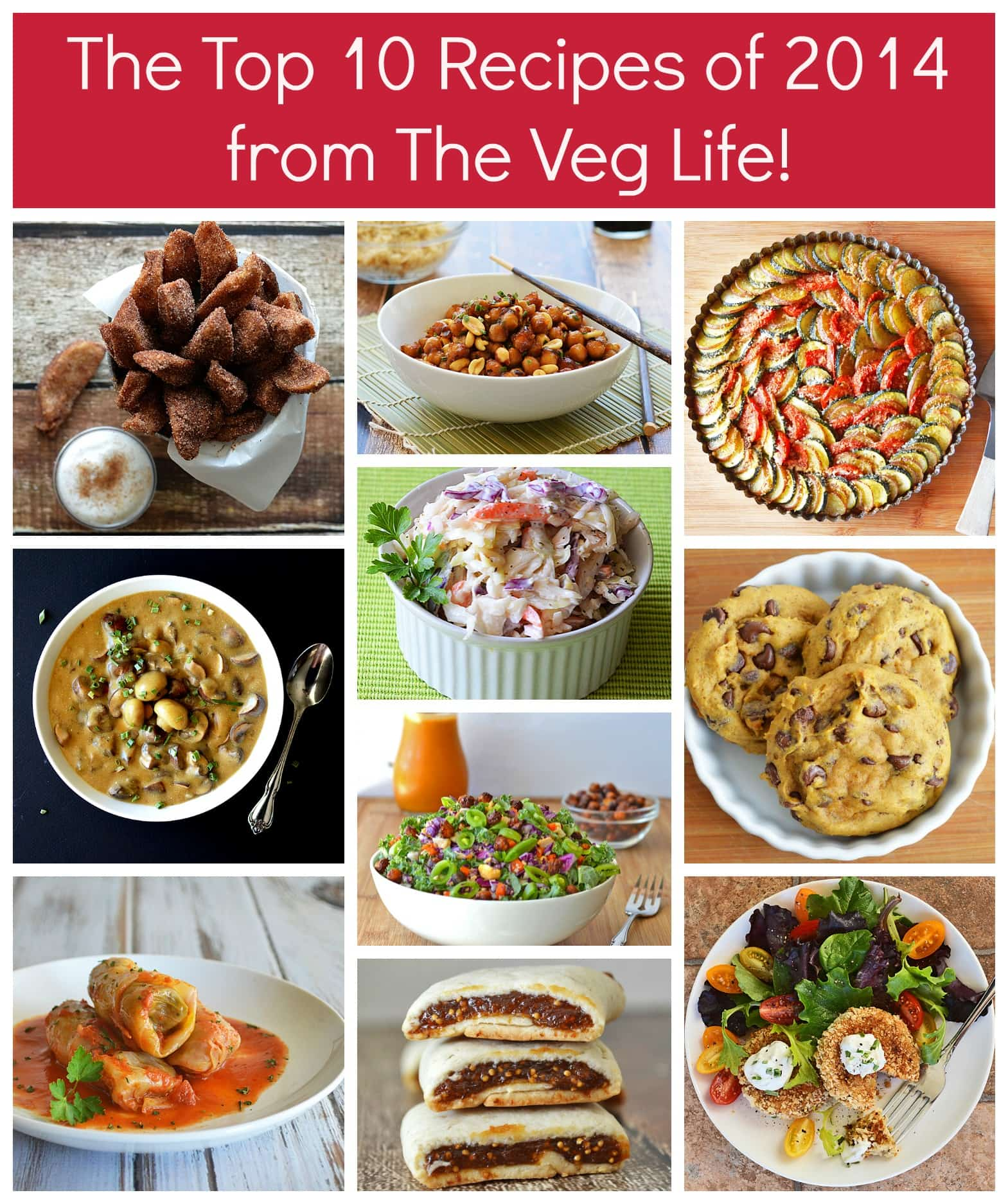 The Top 10 Recipes of 2014!
