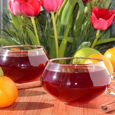 Cranberry Wassail {Vegan}