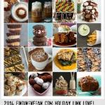 50+ Vegan Holiday Recipes, by FindingVegan Bloggers. Roundup!