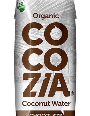 REVIEW: Cocozia 100% Organic Coconut Water with CHOCOLATE