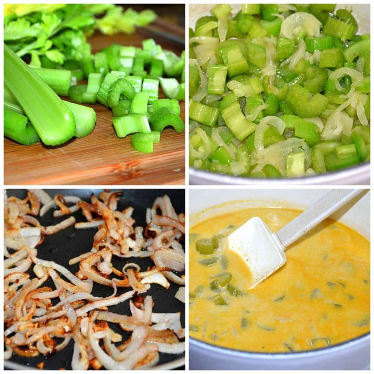 Healthy Vegan Cream of Celery Soup