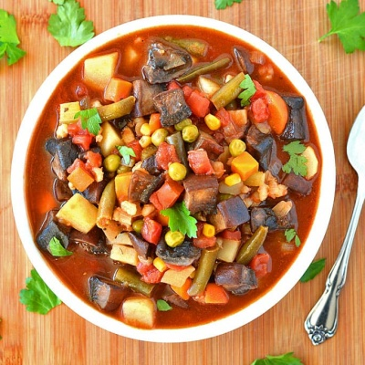 Vegetable Barley Soup {Vegan}