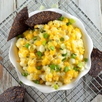 Hominy and Green Chile Dip