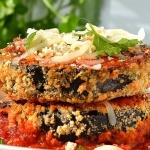 Baked Eggplant Parmesan {Vegan}