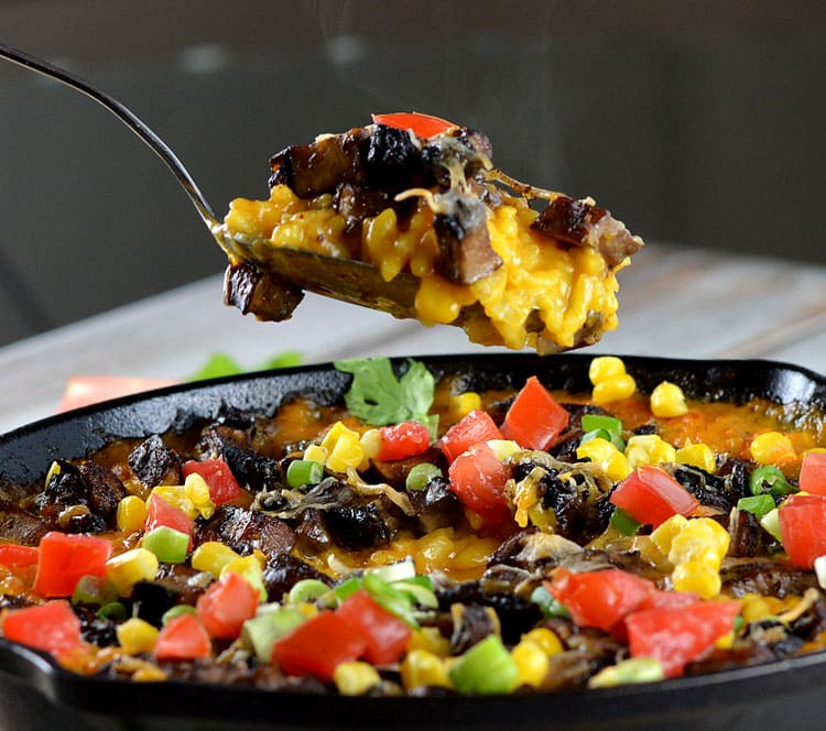 Cheesy Mexican Rice Casserole
