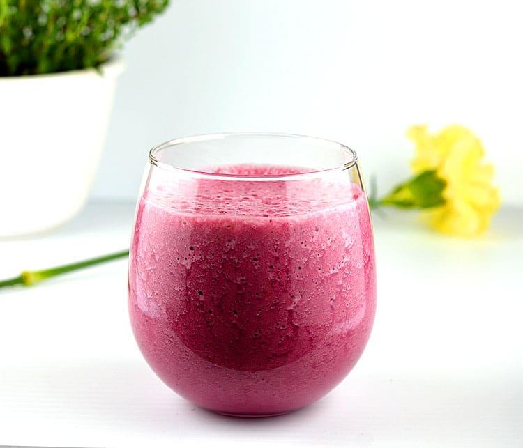 Beet root juice powder-smoothie