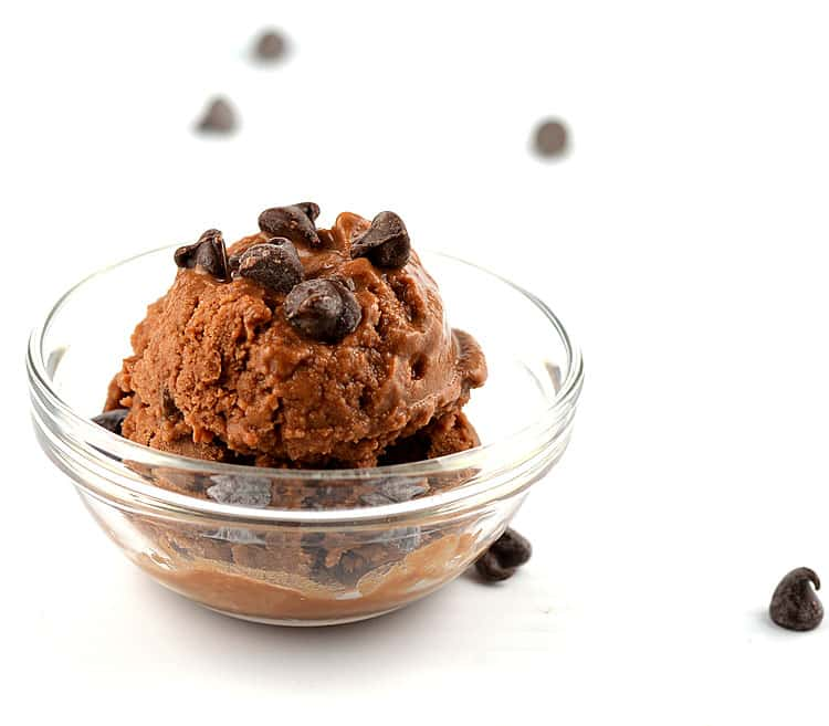 Chocolate Chocolate Chip Frozen Dessert