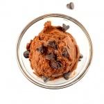 Chocolate Chocolate Chip Frozen Dessert {Vegan}