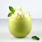 Green Tea Shamrock Shake {Vegan}