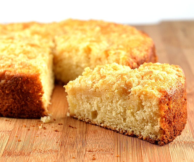 Meyer Lemon Coffee Cake {Vegan} - TheVegLife