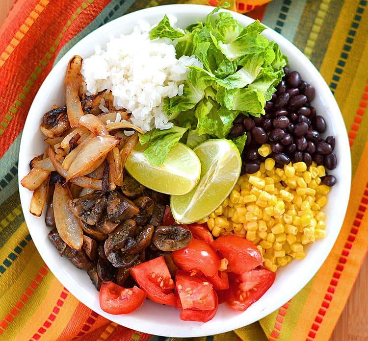 Easy Vegan Burrito Bowls - TheVegLife