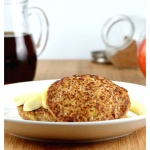Apple Cinnamon Oatmeal Pancakes {Vegan}