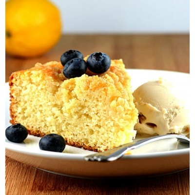 Meyer Lemon Coffee Cake {Vegan}