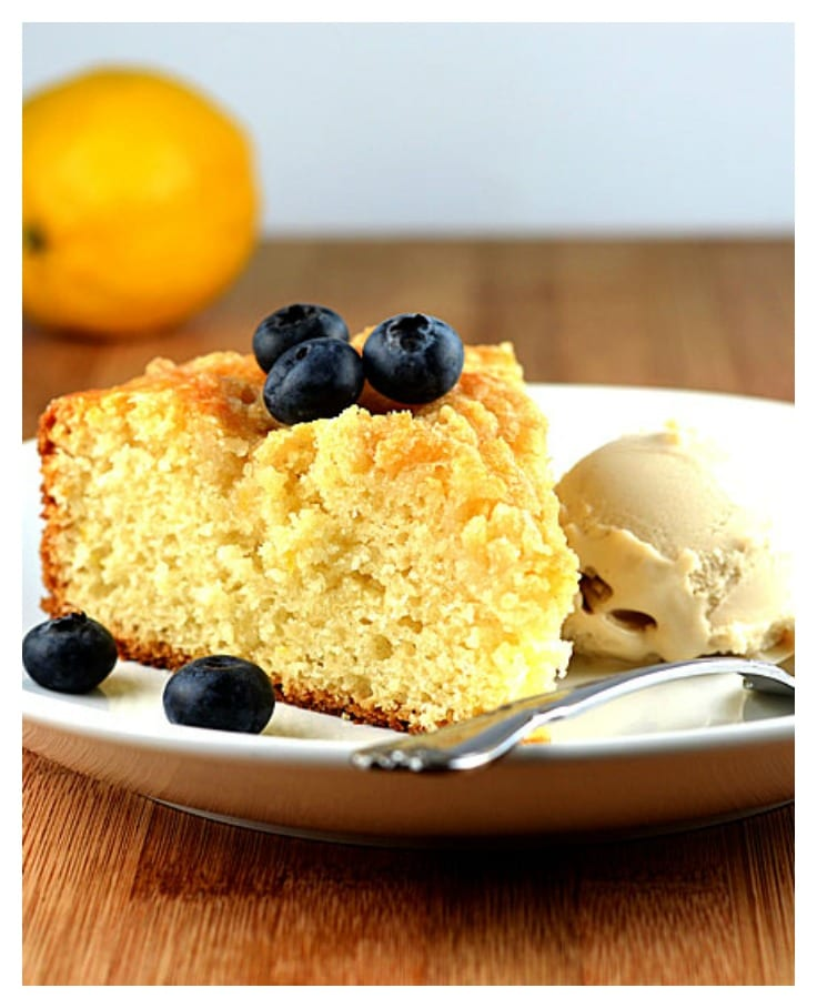 Meyer Lemon Coffee Cake