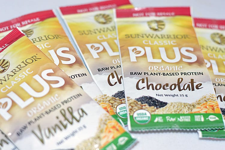 Sunwarrior Classic Plus Protein Powders