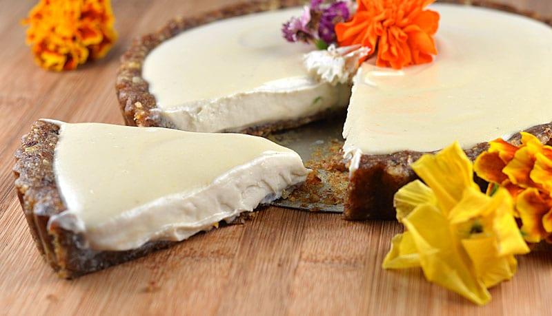 Lemon Cashew Cream Tart