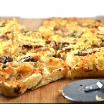 Caramelized Onion and Mushroom Focaccia