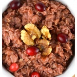 Cranberry Oatmeal {Vegan}