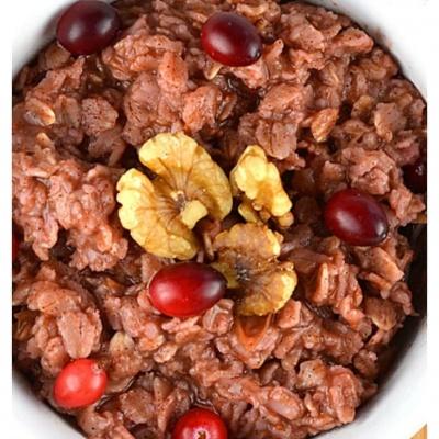 Cranberry Oatmeal {Vegan}