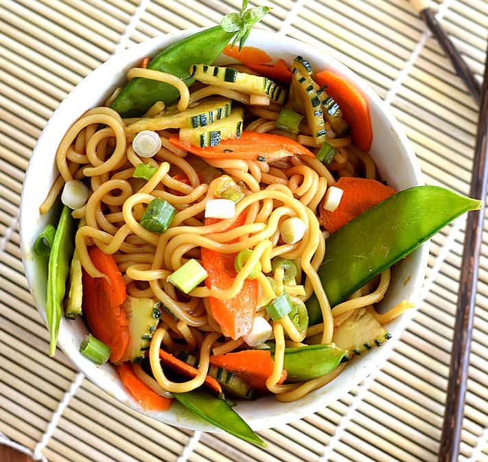 MEATLESS MONDAY:  Sesame Noodles