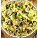 Meatless Monday: Pasta Primavera {Vegan}