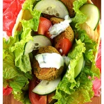 Meatless Monday: Baked Falafel with Homemade Tzatziki