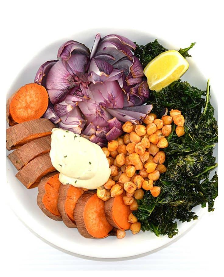 Meatless Monday: Roasted Buddha Bowl {Vegan} - TheVegLife