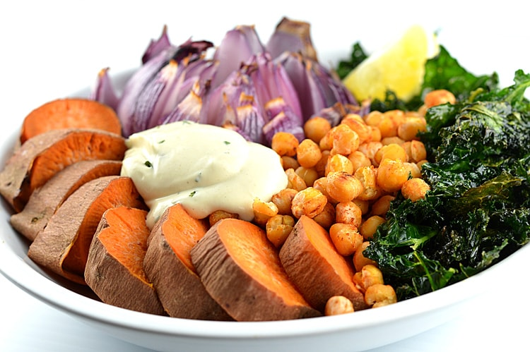 High Protein Roasted Buddha Bowl
