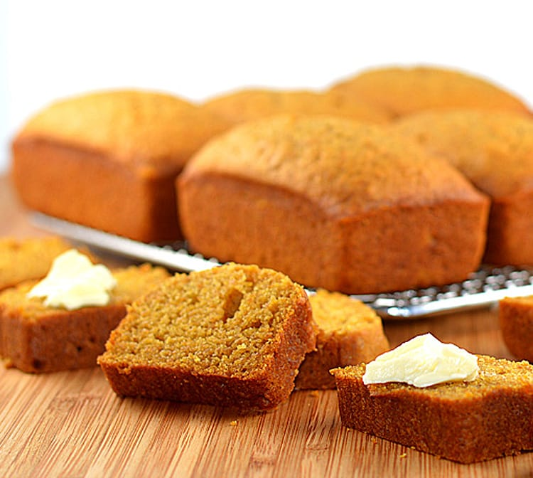 Brown Sugar Butternut Squash Bread