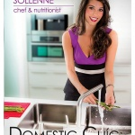 REVIEW:  Domestic Chic Cookbook by Kristin Sollenne