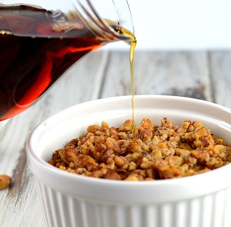 Healthy Vegan Baked Pumpkin Spice Oatmeal