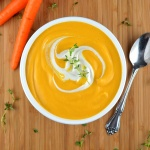 Gingered Carrot Bisque
