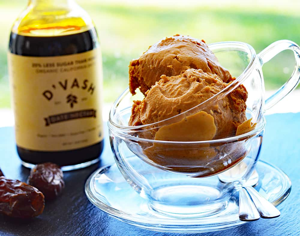 Pumpkin Pie Ice Cream {Vegan}