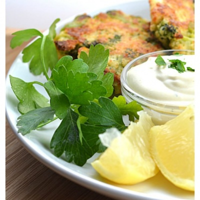 Roasted Broccoli Cakes