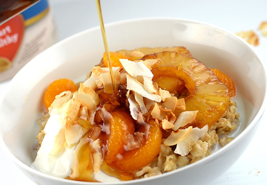 Tropical Oatmeal Bowl