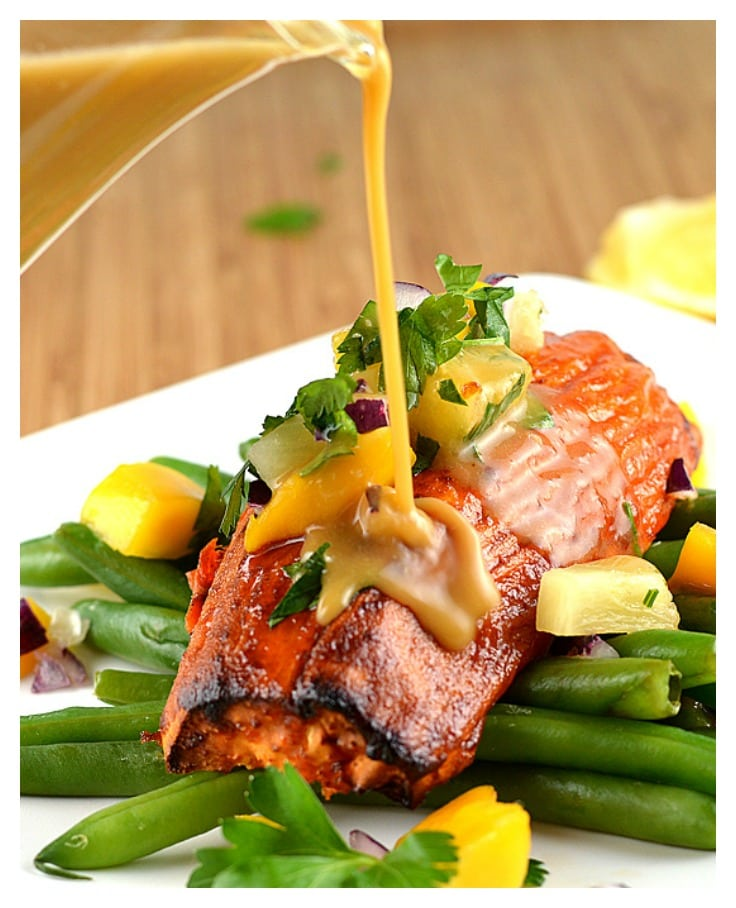 Maple Glazed Sweet Potato with Miso Butter Sauce - TheVegLife