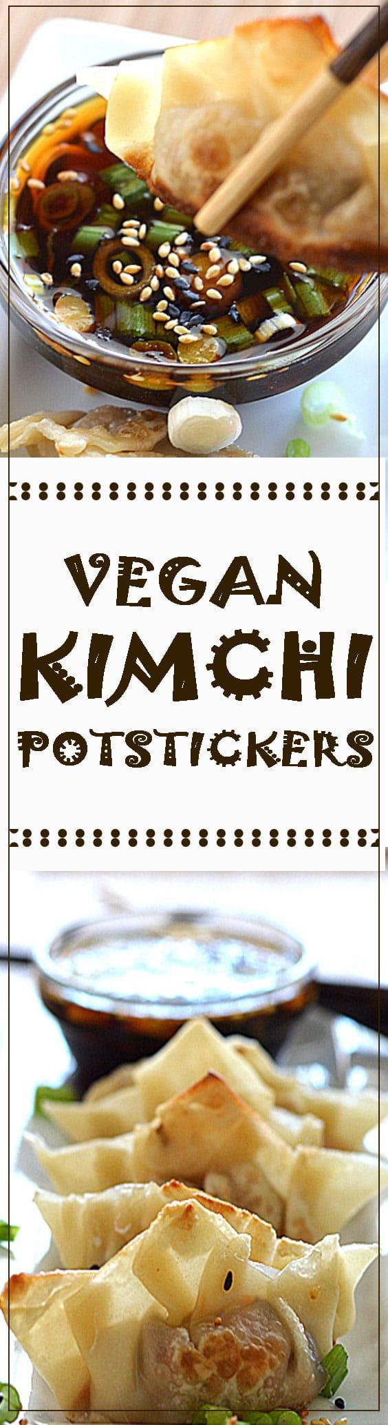 Kimchi Potstickers