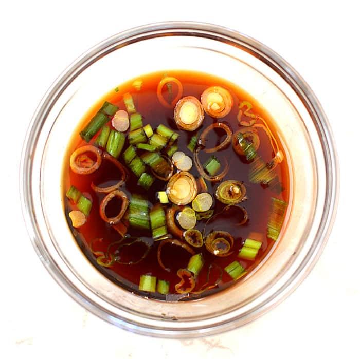 Vegan Kimchi Potstickers