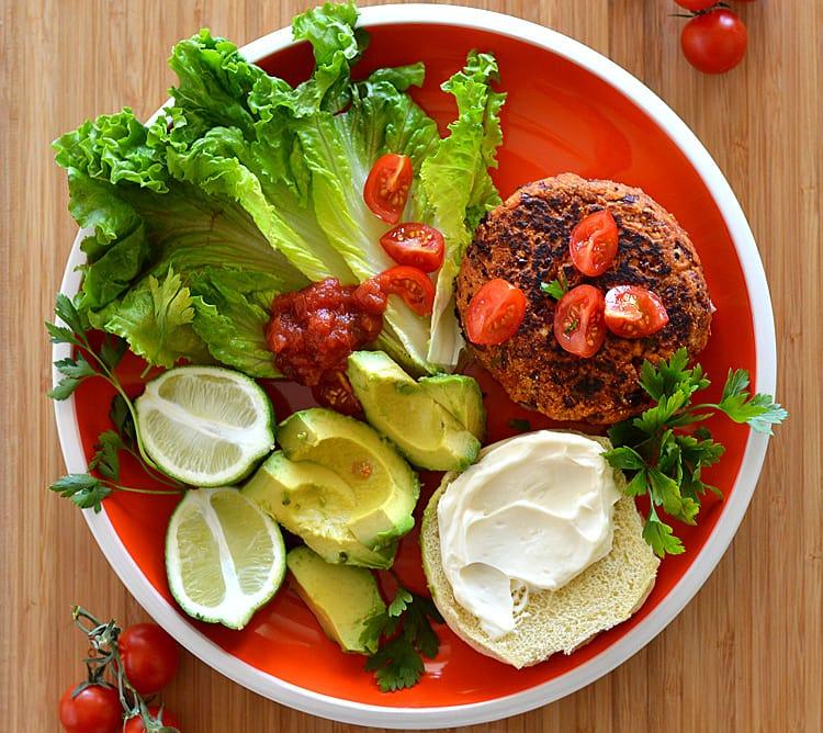 3 Ingredient Red Bean Burgers