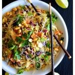 Easy Vegan Thai Cabbage Salad
