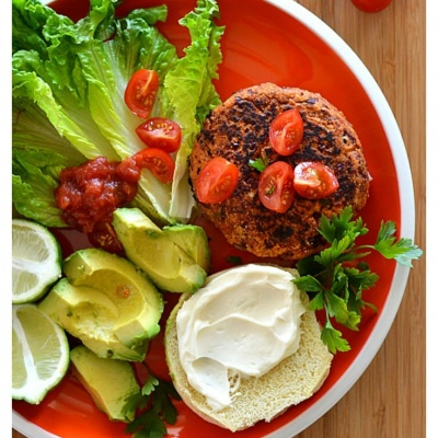 3 Ingredient Red Bean Burgers