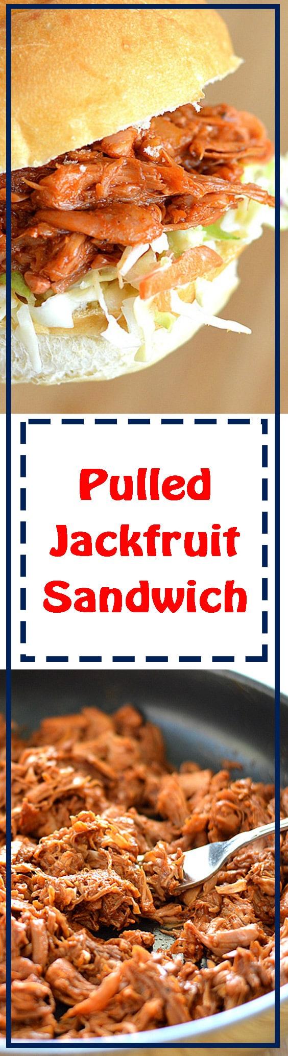 Pulled Jackfruit Sandwiches