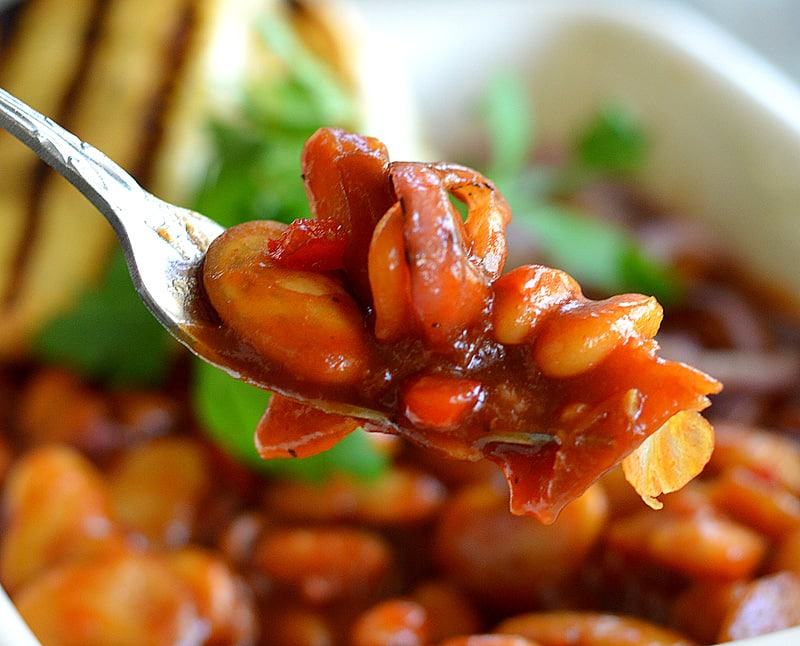 Loaded Barbecue Baked Beans