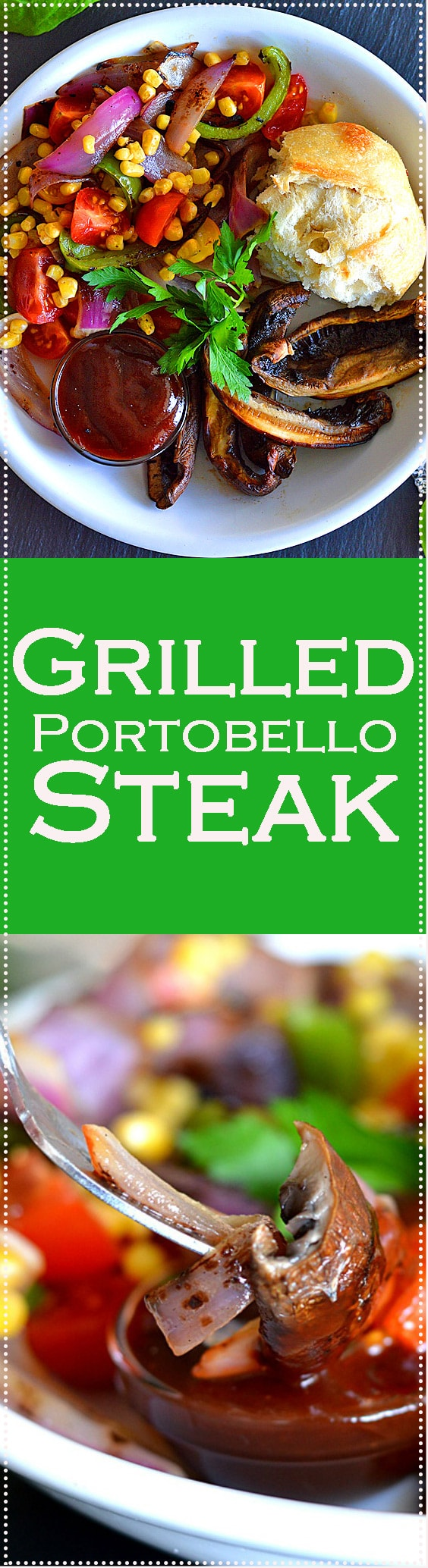 Grilled Portobello Steak