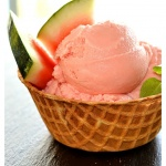 Vegan Watermelon Ice Cream