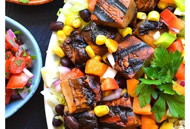 Spicy Chipotle Portobello Burrito Bowl