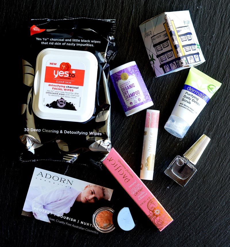 August 2016 Vegan Cuts Beauty Box Review
