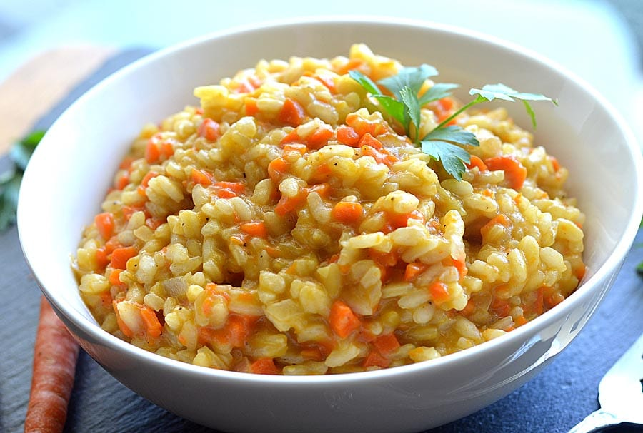 If you make this Caramelized Carrot Risotto, leave a comment below and ...